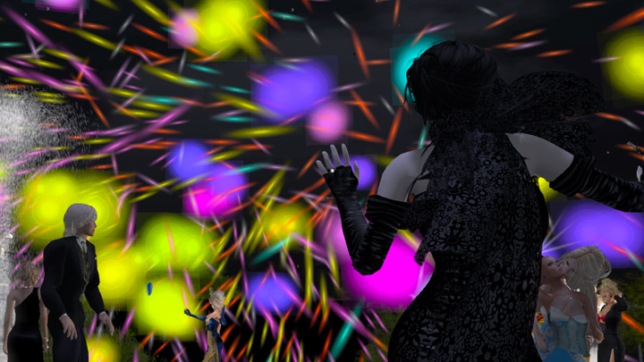 Happy New Year from Junkyard Blues in Second Life